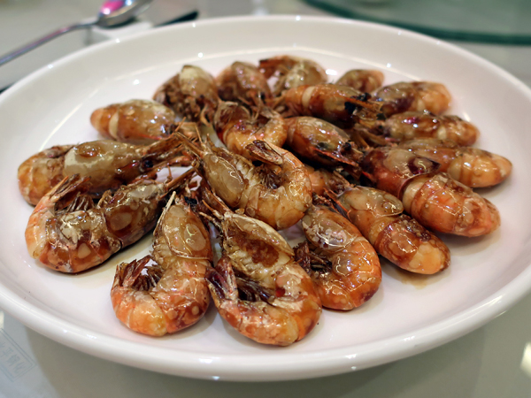 豉油皇河蝦