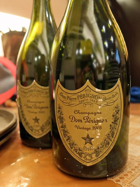 2003 Dom Pérignon