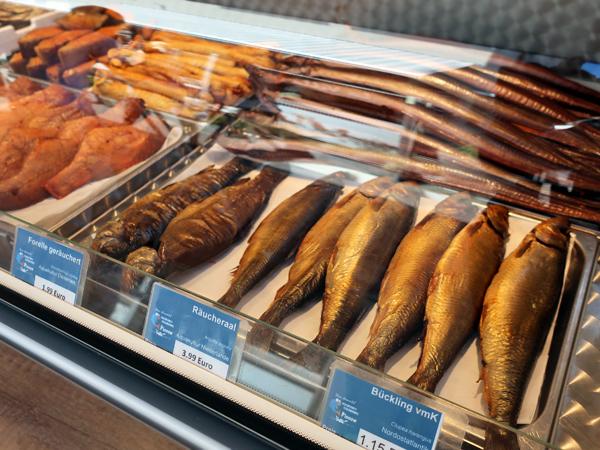 各種燻海鮮
