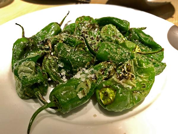 烤西班牙 Padrón 青椒