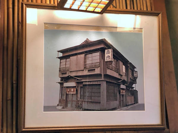 昔日老店的照片
