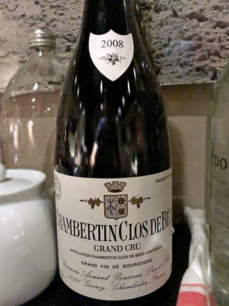 2008 Armand Rousseau Chambertin Clos de Bèze Grand Cru