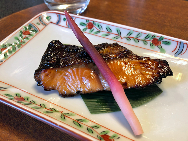 山椒葉醬燒(木の芽焼き)鮭鱒