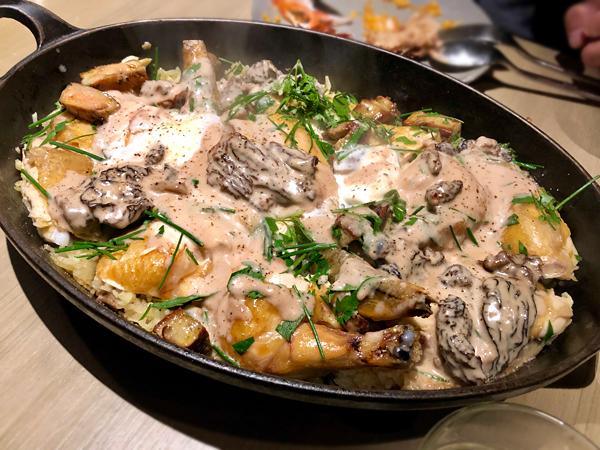 雞肉羊肚菌飯