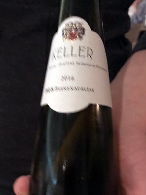 2016 Wein gut Keller Cuvee Pius Beerenauslese