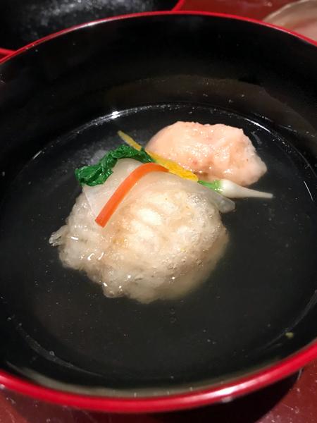 蝦丸與炸六線魚