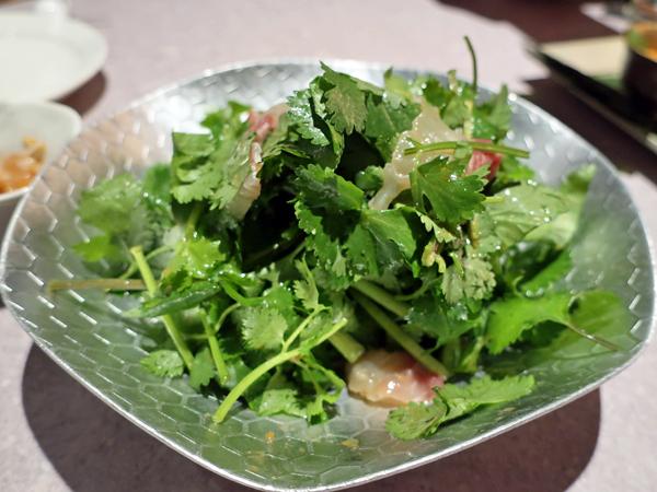 香菜真鯛魚沙拉