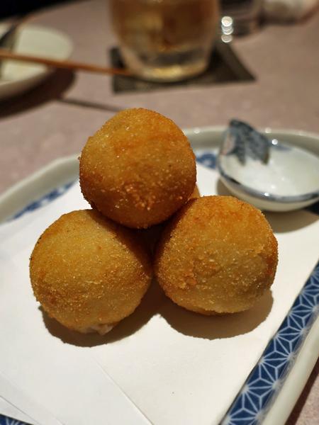 京都海老芋可樂餅