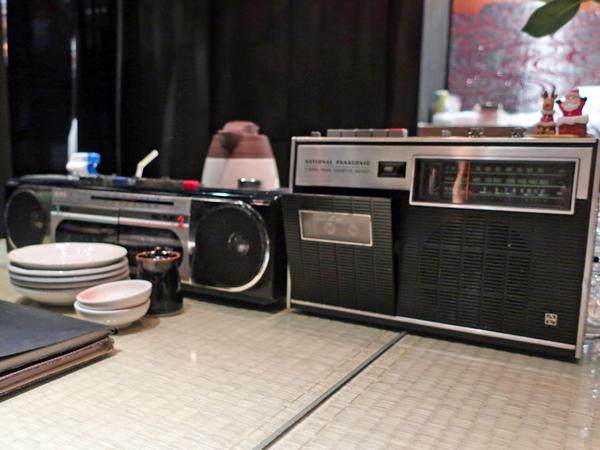 懷舊的卡式收音機