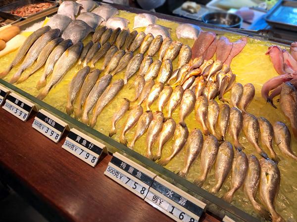 東海大陸棚中小型海鮮