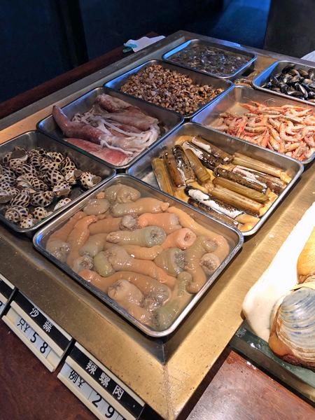 蝦貝蚌等其他海鮮