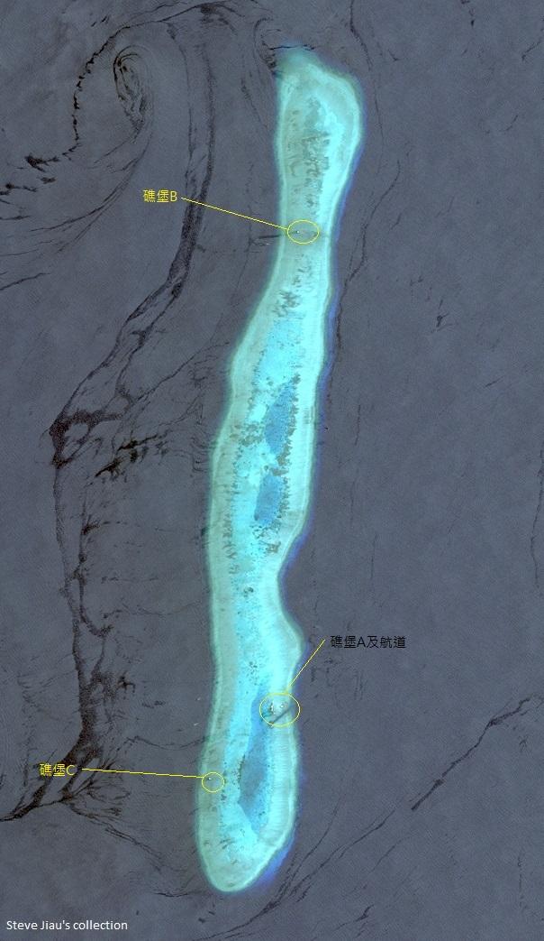南海風雲---- 各國搶建島礁最新...