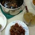 雞湯和滷豬皮