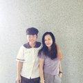6/13 2017 與國三生謝芳諭在302教室前