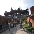 顯通寺始建於漢明帝永平年間,略晚于白馬寺數年,所以有人把它列為中國的第二座古寺。 是五台山寺廟群中最大的一座寺廟。