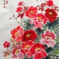 花開富貴牡丹圖
