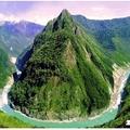 西藏林之江河會合處至八一鎮風光